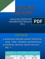 HIPERTENSI ESENSIAL