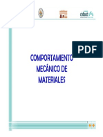 Comportamiento Mecanico de Los Materiales