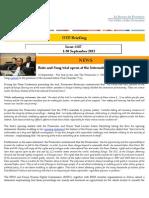OTP Briefing 1-30 September 2013