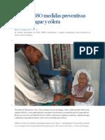 15/10/13 e-oaxaca Refuerza SSO medidas preventivas contra dengue y cólera