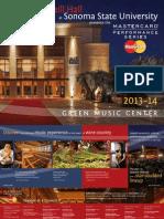 GMC Subscription Brochure 2013-14