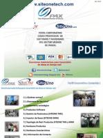 Perfil Corporativo - SITIOUNO Ver2.5c3- 2013