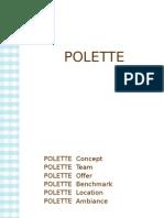 Polette - Cafe Polette -Concept Presentation