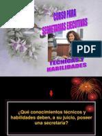 2Técnicas y Habilidades de la Secretaria