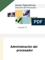 Sistemas Operativos Unidad 2