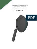 Lornet 36 Long Range NLJD Non Linear Junction Detector