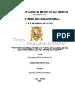 Proyecto Instalacion Planta Glp