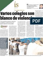 blanco de violencia