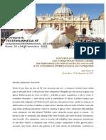 Discurso Do Papa Francisco Aos Catequistas Dia 27 de Setembro 2013