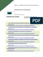 UNED-CURSOS DE PORMACIÓN DEL PROFESORADO