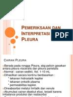 K.25 Kuliah PK Blok Paru - Pleural Effusion - Thn 2009