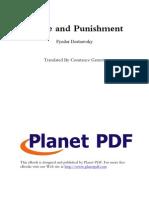 Crime and Punishment T English