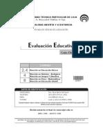 evaluación educativa utpl