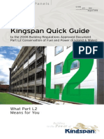 Kingspan L2 Quick Guide