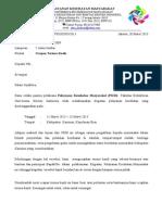 Surat Ucapan Terima Kasih PKM FK UKISIA