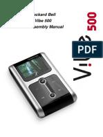 Vibe500 Disassembly Manual