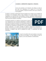 Usos e Impacto Economico y Ambiental de Compuestos y Elementos Químicos
