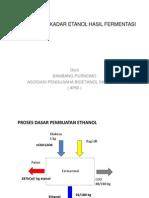 Pengukuran+Kadar+Etanol+Hasil+Fermentasi