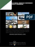 Drones and Aerial Robotics Conference Law & Policy Guidebook