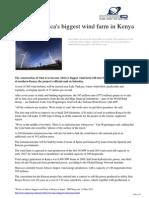 2012 03 Africa Biggest Farm Kenya