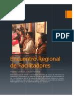 Memoria Encuentro Regional