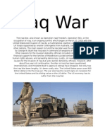 10 Econ Iraq War
