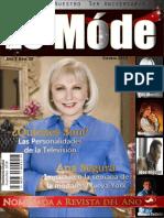 Le Mode TV Magazine -Edicion 3er Aniversario Personalidades de La TV