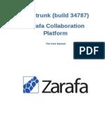 Zarafa Collaboration Platform 7.0 User Manual en US