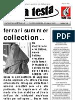 SU LA TESTA- LUGLIO '09   (N.8)