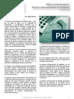 Concepto Normas Internacionales de Auditoria