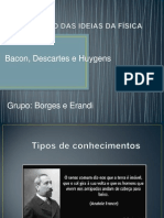 Bacon , Descartes e Huygens