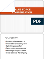 87895008 Sales Force Compensation