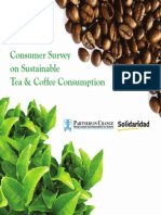 Consumer Survey on Tea and Coffee