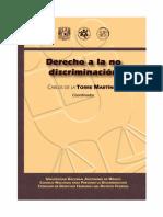 DERECHO A LA NO DISCRIMINACIÓN