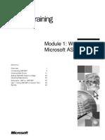 ASP.net - Module 1_Working With Microsoft ASP.net