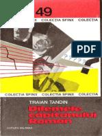 Traian Tandin - Dilemele Capitanului Roman