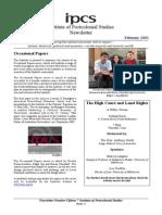 Newsletter February 2003