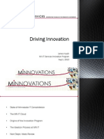 Driving Innovation - James Kauth