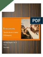 Renascimento - João Pedro - 20130802