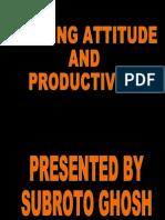 Attitude and Productivity