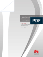 Huawei Cyber Security White Paper (Oct. 2013)