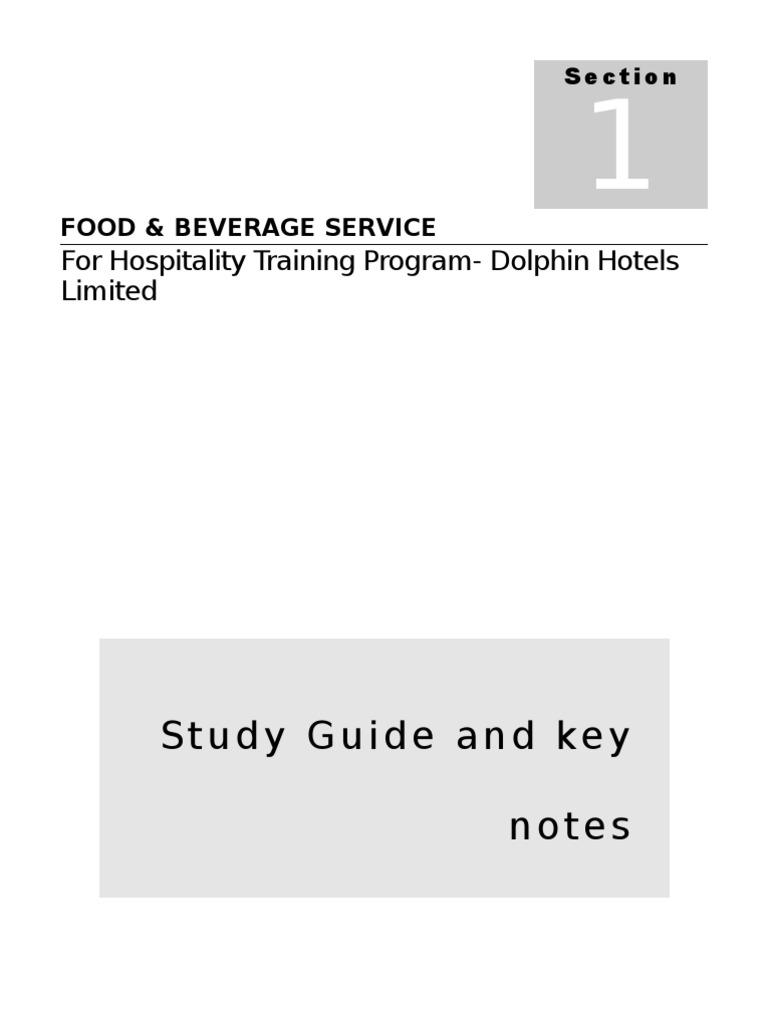 manual for food beverage service tableware restaurants rh scribd com food and beverage manager salary food and beverage manager jobs