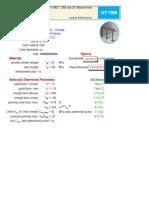Shear Rail Calculator v.6