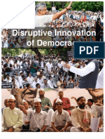 Disruptive Innovation of Democracy