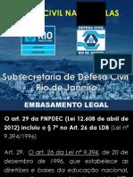 Agente Mirin Defesa Civil - Rio de Janeiro