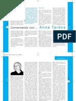 Conversando Con Anna Tardos.