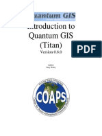 Introduction to Quantum GIS 0 8 0