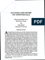 Rice & Den Uyl - Spinoza and Hume on Individuals
