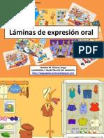 Láminas de expresión oral