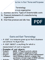 CHAPTER 2 Cost Terms and Purpose